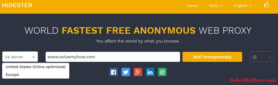 100+ Proxy Websites List 2018 To Open Blocked Sites | Solve My How
