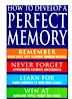 How to Develop a Perfect Memory  PDF Book by Dominic O' Brien