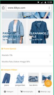 Aplikasi Toko Online Di Android