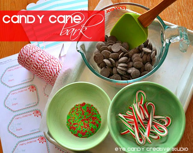 candy cane bark, holiday bark, how to make candy cane bark, holiday baking