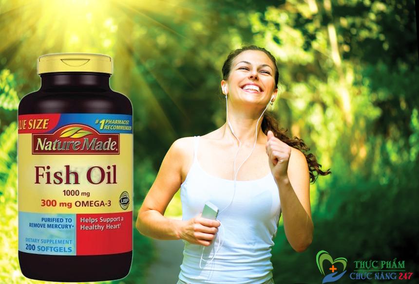 Dầu Cá Omega 3 Nature Made Fish Oil 1200mg giá bao nhiêu tiền, mua ở đâu ?