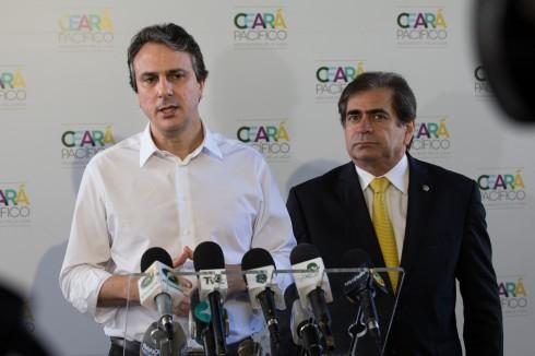 Camilo, Zezinho e presidente do TJCE vão a Brasília para audiência com Temer