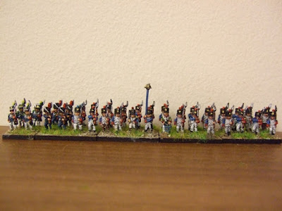 French Line Battalion With Shako from Lancer Miniatures