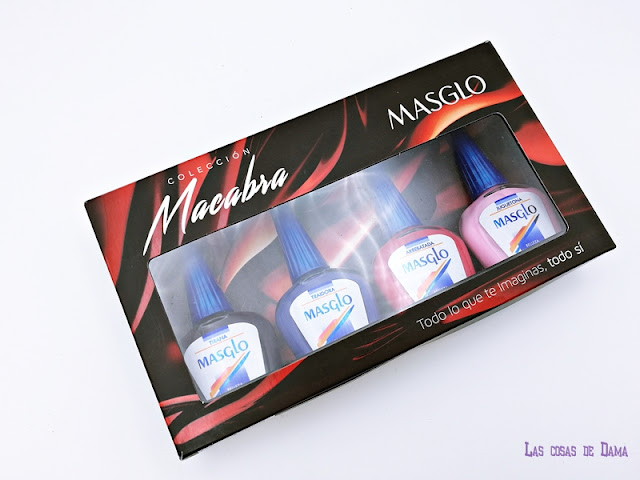 Colección Macabra Masglo uñas manicura nailpolish beauty belleza laca esmalte manos