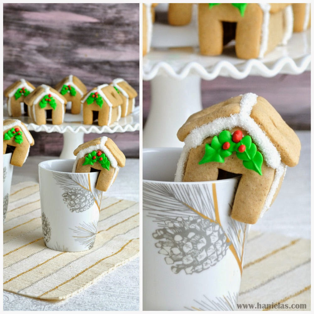 Haniela's: Mini Gingerbread House Collaboration With