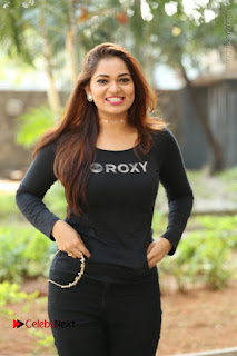 Actress Aswini Latest Stills in Black Denim Jeans  0024.JPG