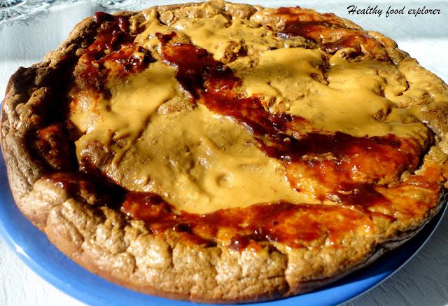 Pieczony omlet kakaowy