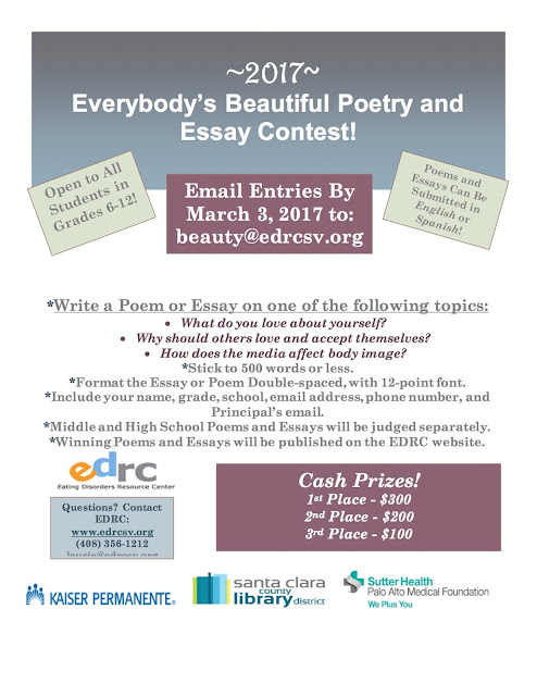 poem and essay contest