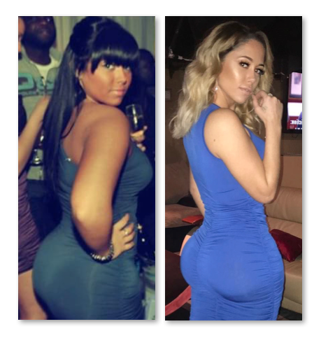 Sophia The Body Boyfriend - Before And After Pictures