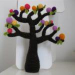 patron gratis arbol amigurumi | free amigurumi pattern tree