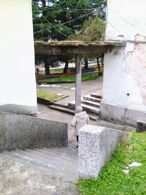 Concrete, Umbrella, Yambol, Hospital Buildings,