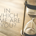#2 IN WHICH TIME ARE YOU?