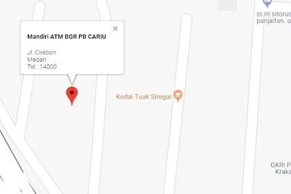 Alamat Atm Setor Tunai Bank Mandiri di Kota Medan