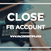 How to close my FB account