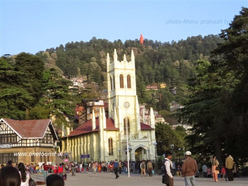 Shimla , the capital of himachal , hill station in himachal pradesh