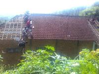 Akibat Tanah Bergerak, Pemilik Empat Rumah di Slahung Ponorogo Siap Dipindah