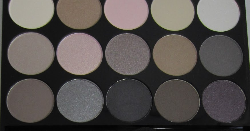 Ida Pie Nyx Butt Naked Eyes Eyeshadow Palette - Swatched-6564