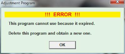 Resetter Errors