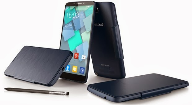6 inçlik Alcatel One Touch Hero Phablet