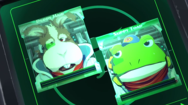 Star Fox Zero The Battle Begins Peppy Hair Hare typo error intercom Slippy Toad
