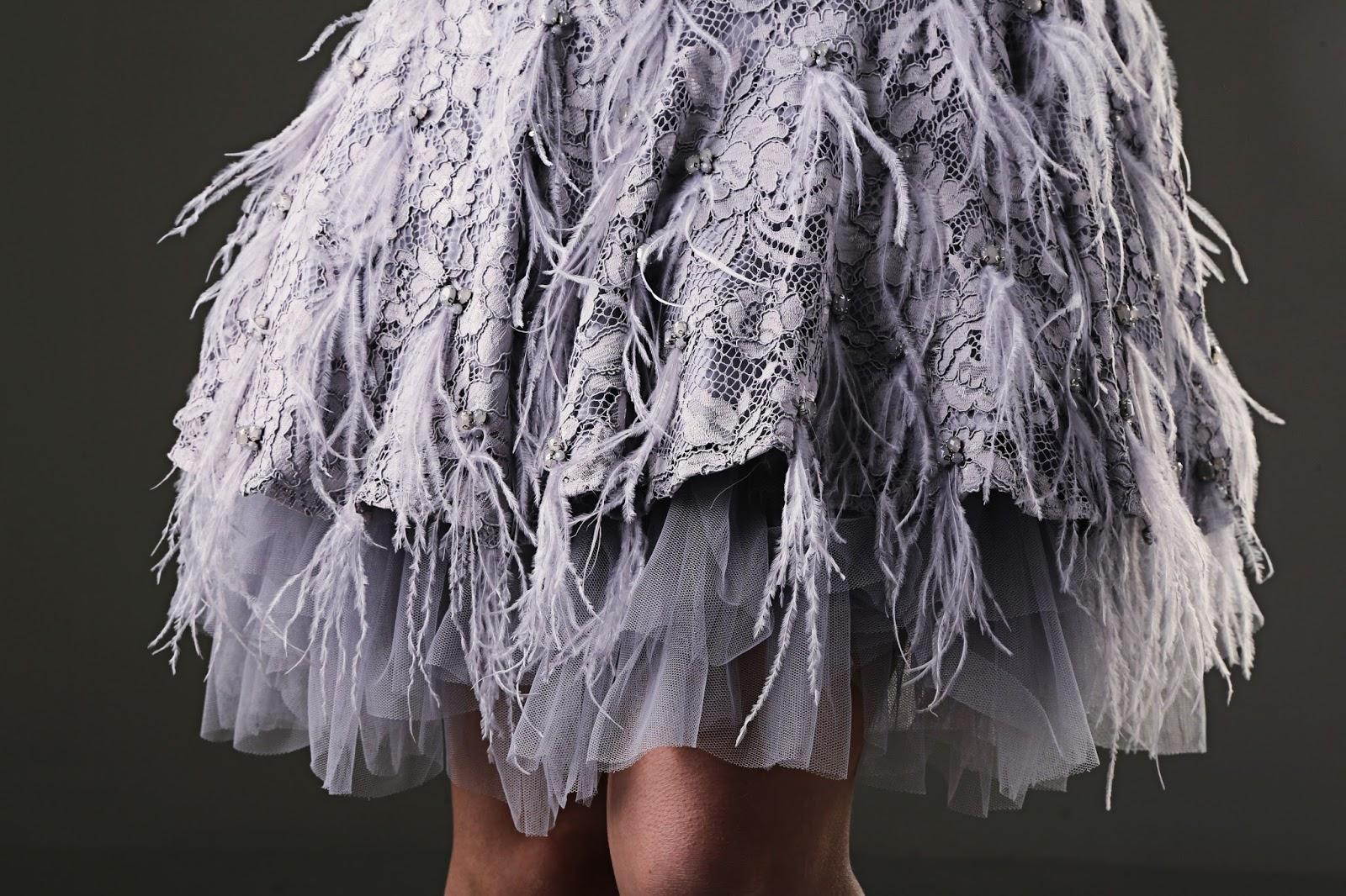 Reanna Feather Dress By Coast