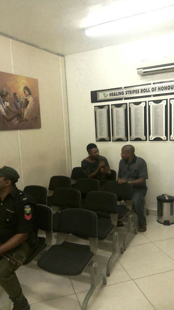 Oritsefemi faked collapse after stabbing bouncer - Quilox Nightclub (graphic photos)