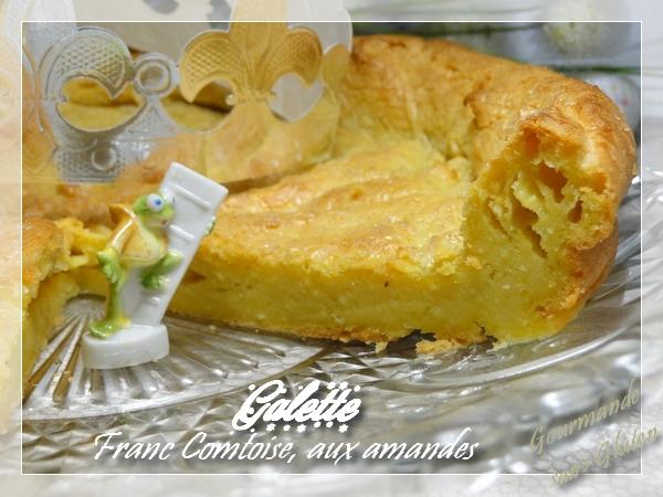 Galette des rois franc Comtoise sans gluten