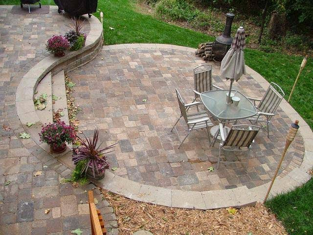 Paver Patio Designs Patterns picture