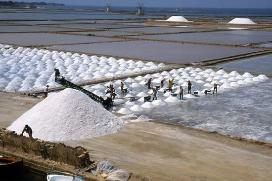 Los múltiples usos de la sal