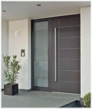 model daun pintu depan minimalis