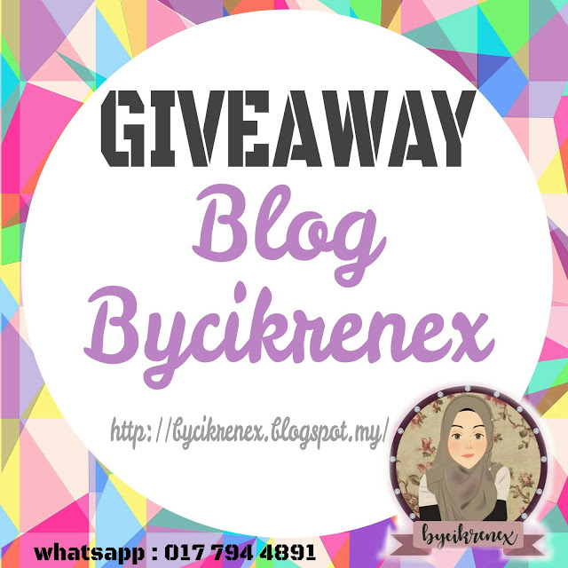 http://renex89.blogspot.my/2017/08/giveaway-blog-bycikrenex.html