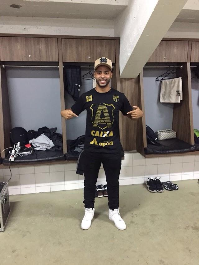 Feliz pela temporada no Ceará, Romário comemora bom desempenho individual e o segundo acesso na carreira