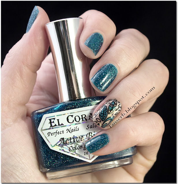 El Corazon Active Bio-Gel Color Gel Polish «Large Hologram» #423/501 Kryptonite