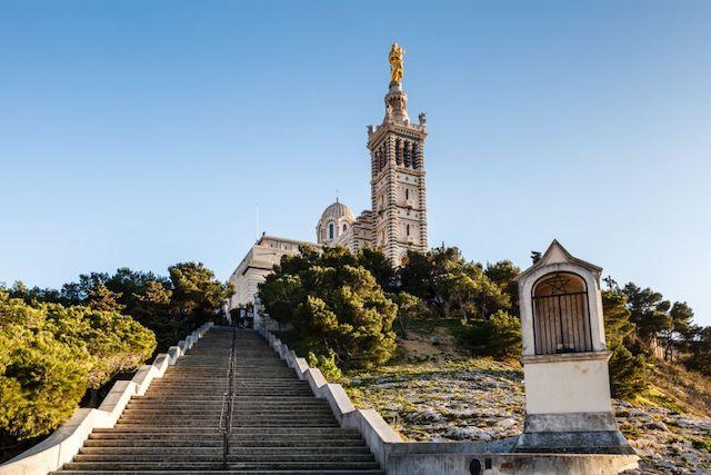 Notre-Dame de la Garde em Marselha