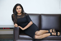 Telugu Actress Karunya Chowdary Latest Stills in Black Short Dress at Edo Prema Lokam Audio Launch .COM 0120.JPG