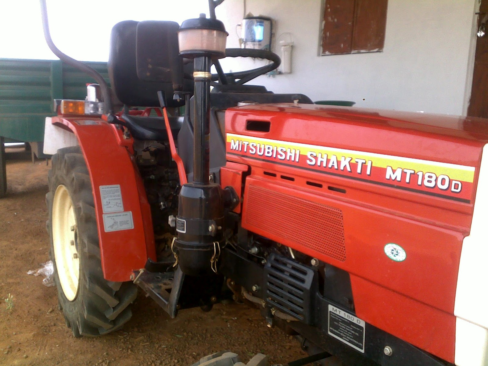 Various implements can be attached to these types of tractor - Rotavator, 5  Finger and Disc Plough and Hydraulic Trolley. I would not recommend using  the ...