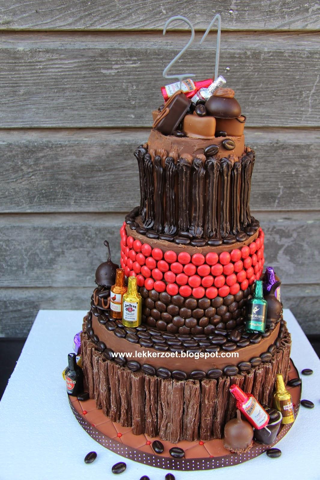 Bekend lekker zoet: Martinez- chocolade- bonbons stapeltaart voor Rody 21  CT75