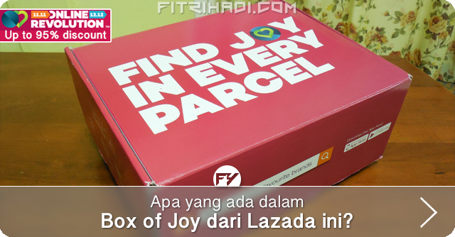Unboxing Box Of Joy Dari Lazada Malaysia
