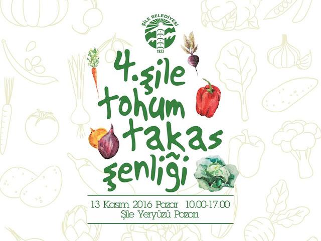 4. Şile Tohum Takas Şenliği (13.11.2016)