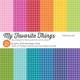 MFT GRAPHIC GRID 6x6 Paper Pack