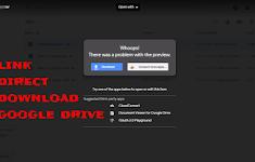 Cara Buat Link Direct Download Di Google Drive