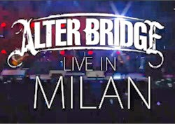 Alter Bridge - Live In Milan CD, DVD