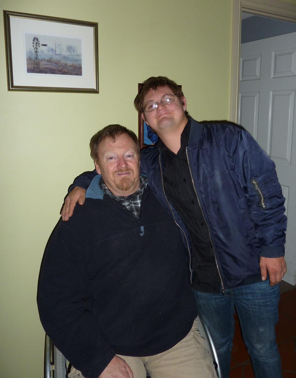 Wheel'n'round The Workshop: Tim Clark Pen Turner Down Syndrome