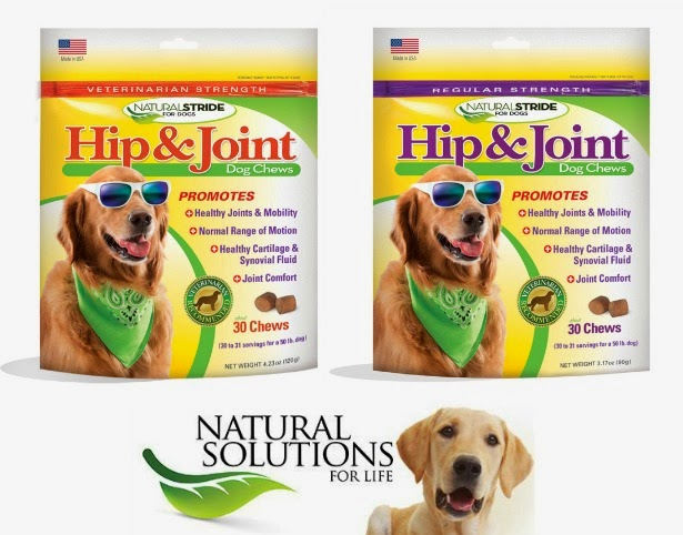 Natural Stride Hip & Joint Chews for dogs