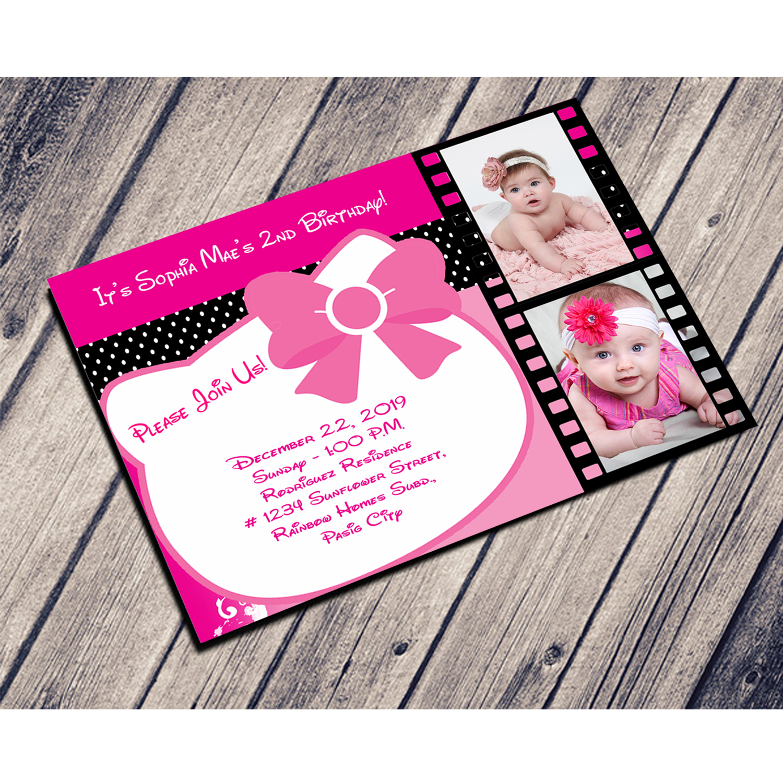 Hello Kitty Birthday Invitation Pinoycyershop
