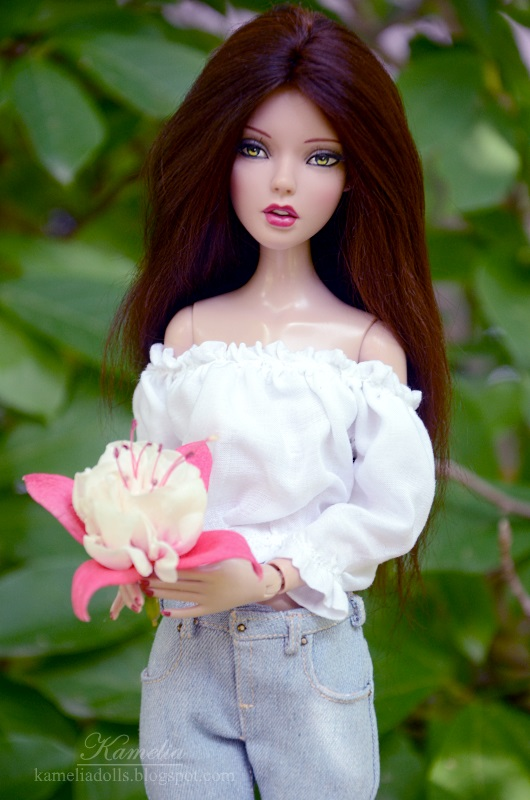 Handmade clothes for Tonner doll
