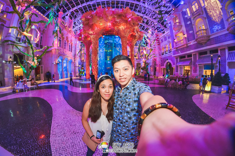 Must take a selfie at this amazing place in MGM Macau!! Remember to check out this place guys!!