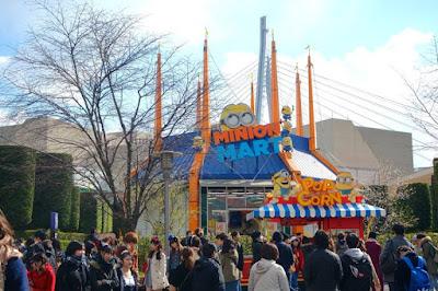 10D9N Spring Japan Trip: Minion Plaza, Universal Studios Japan