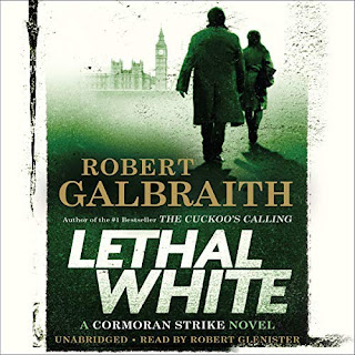 Review of the audiobook of Lethal White by Kenneth Galbraith