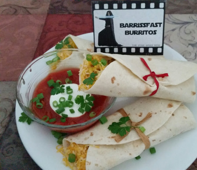 Barriss Offee Breakfast Burritos - Star Wars Theme Food